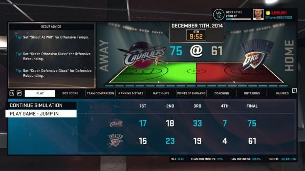 NBA 2K15 Screenshot #16 for Xbox One