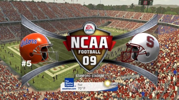 NCAA Football 09 Screenshot #389 for Xbox 360
