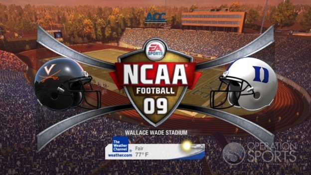 NCAA Football 09 Screenshot #393 for Xbox 360
