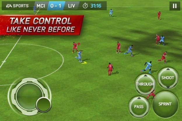 FIFA 15 Ultimate Team Mobile Screenshot #1 for iPhone, iPad, Android, iOS