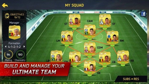 FIFA 15 Ultimate Team Mobile Screenshot #4 for iPhone, iPad, Android, iOS