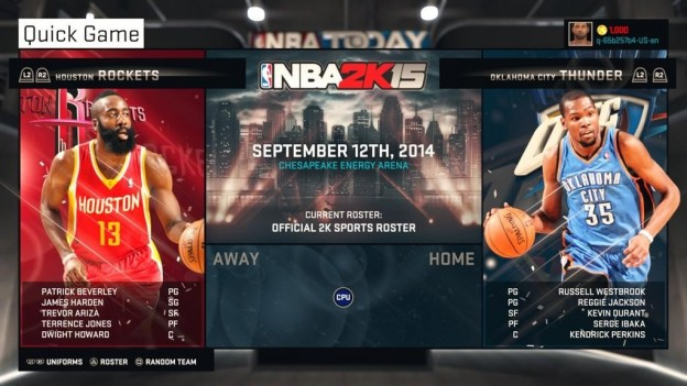 NBA 2K15 Screenshot #65 for PS4