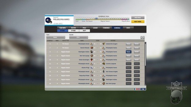 Front Page Sports Football Screenshot #5 for PC