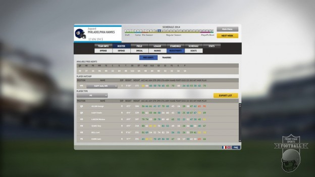 Front Page Sports Football Screenshot #6 for PC