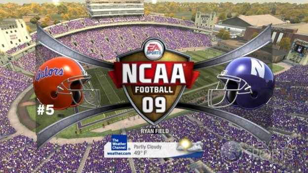NCAA Football 09 Screenshot #398 for Xbox 360