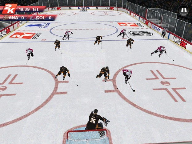 NHL 2K Screenshot #4 for iOS