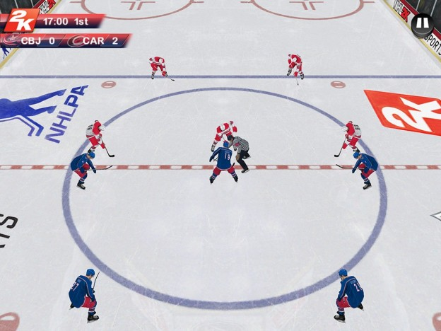 NHL 2K Screenshot #8 for iOS