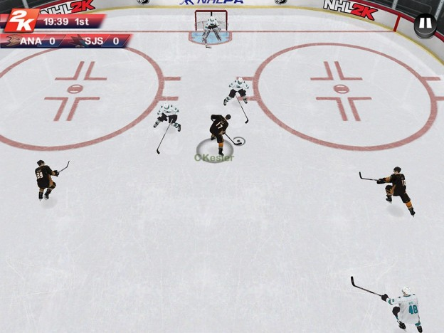 NHL 2K Screenshot #9 for iOS