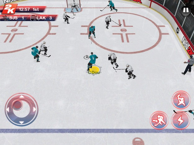 NHL 2K Screenshot #1 for Android