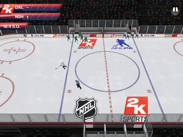 NHL 2K Screenshot #2 for Android