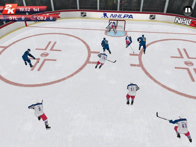 NHL 2K Screenshot #7 for Android
