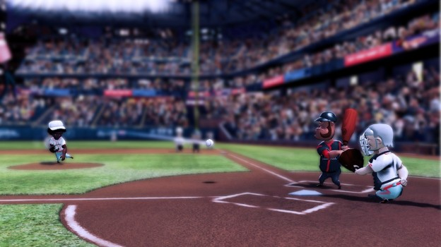 Super Mega Baseball Screenshot #1 for PS3, PS4