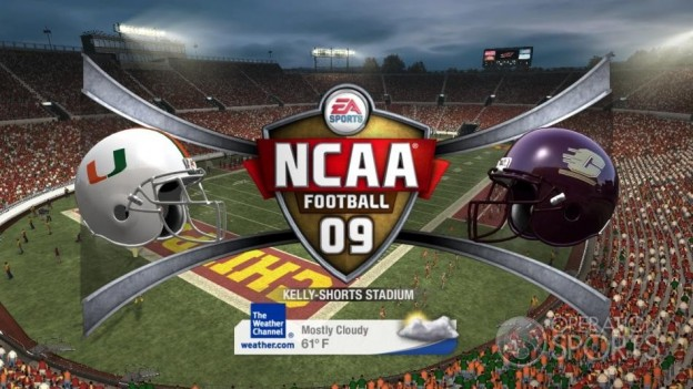NCAA Football 09 Screenshot #409 for Xbox 360