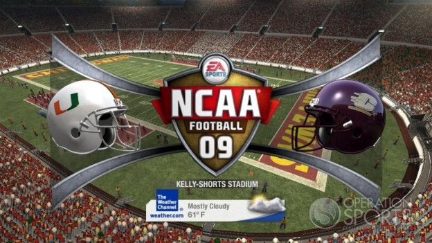 NCAA Football 09 Screenshot #410 for Xbox 360