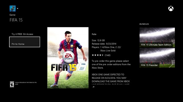 FIFA 15 Screenshot #53 for Xbox One