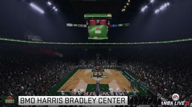 NBA Live 15 Screenshot #104 for PS4