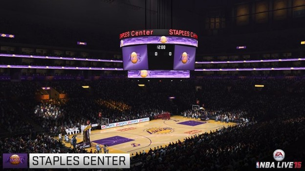 NBA Live 15 Screenshot #107 for PS4