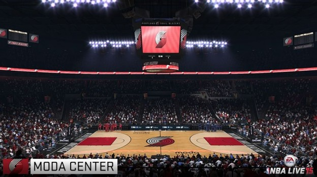 NBA Live 15 Screenshot #89 for Xbox One