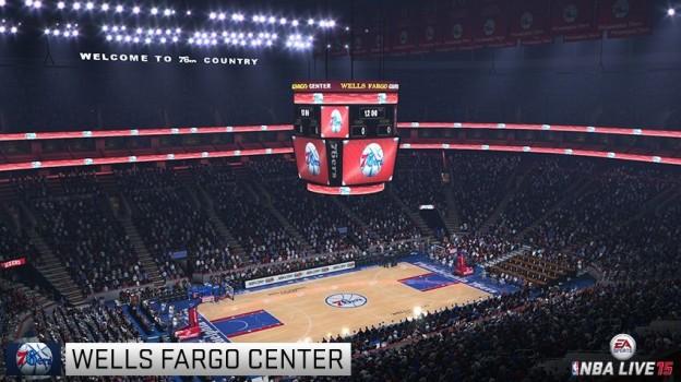 NBA Live 15 Screenshot #91 for Xbox One