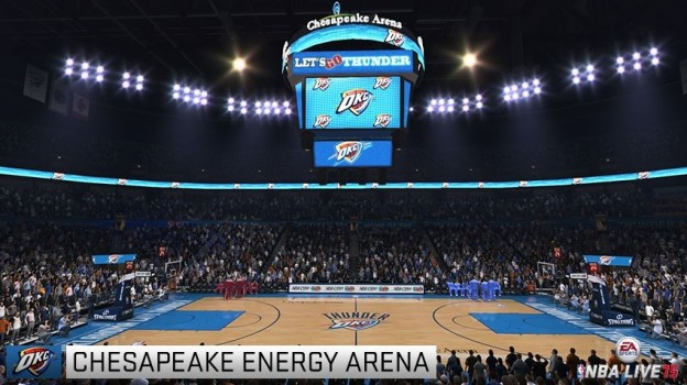NBA Live 15 Screenshot #93 for Xbox One