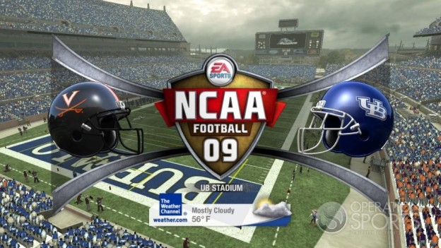 NCAA Football 09 Screenshot #416 for Xbox 360