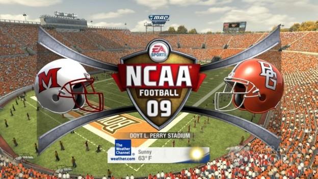 NCAA Football 09 Screenshot #420 for Xbox 360