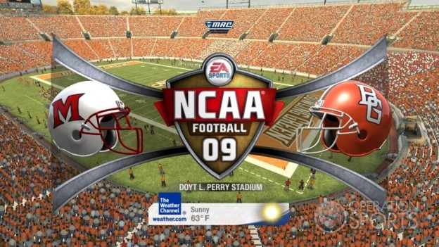 NCAA Football 09 Screenshot #421 for Xbox 360