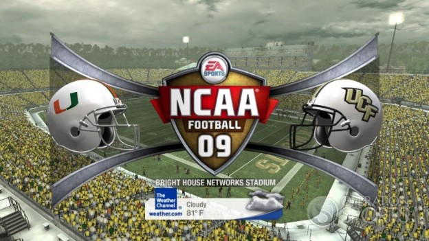 NCAA Football 09 Screenshot #426 for Xbox 360