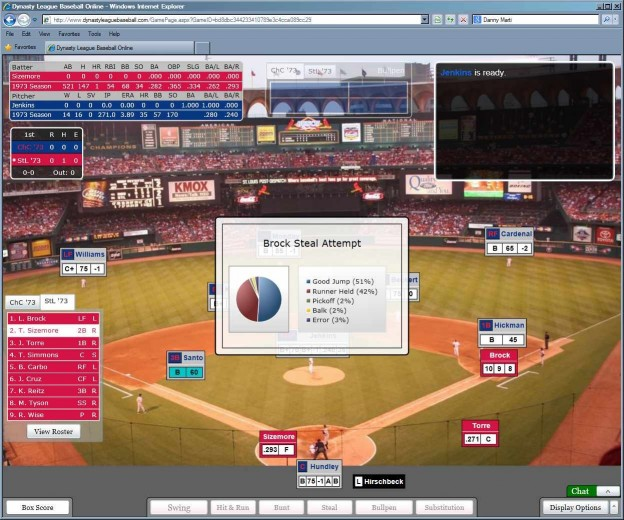 Dynasty League Baseball Online Screenshot #64 for PC