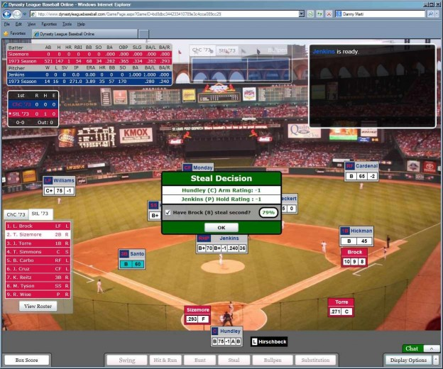 Dynasty League Baseball Online Screenshot #65 for PC