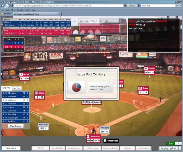 Dynasty League Baseball Online Screenshot #66 for PC