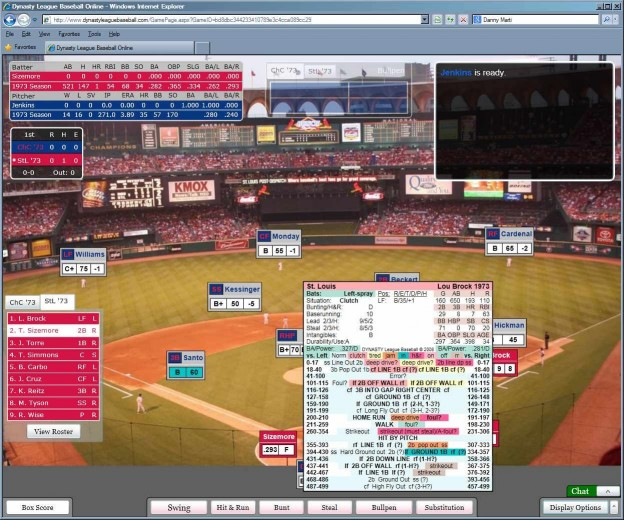 Dynasty League Baseball Online Screenshot #67 for PC