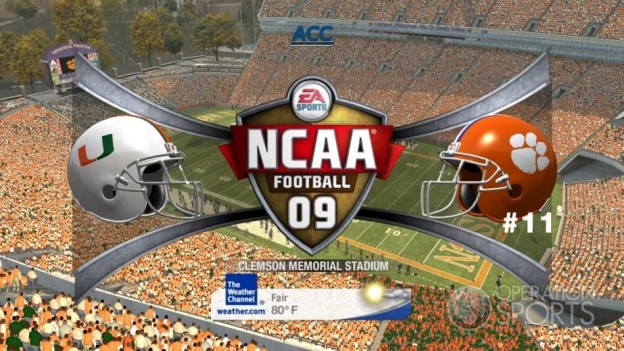 NCAA Football 09 Screenshot #446 for Xbox 360