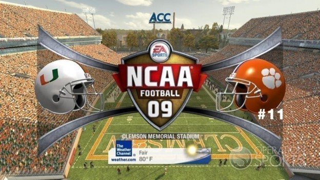 NCAA Football 09 Screenshot #447 for Xbox 360