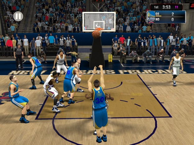 NBA 2K15 Screenshot #4 for iOS