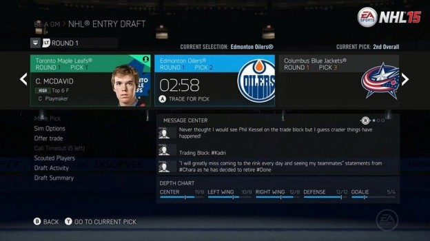 NHL 15 Screenshot #137 for PS4