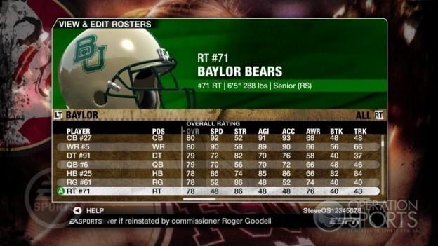 NCAA Football 09 Screenshot #463 for Xbox 360