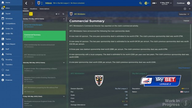 Football Manager 2015 Screenshot #13 for PC