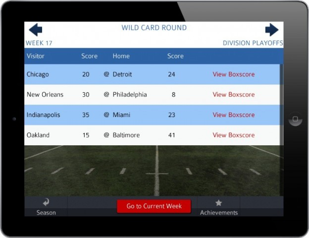 Pro Strategy Football 2014 Screenshot #3 for iPhone, iPad, iOS