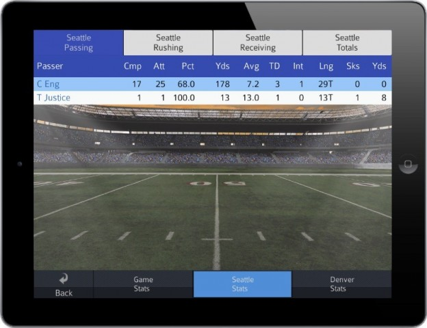 Pro Strategy Football 2014 Screenshot #5 for iPhone, iPad, iOS