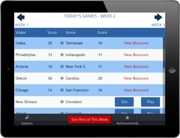 Pro Strategy Football 2014 Screenshot #9 for iPhone, iPad, iOS