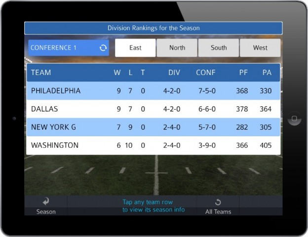 Pro Strategy Football 2014 Screenshot #10 for iPhone, iPad, iOS