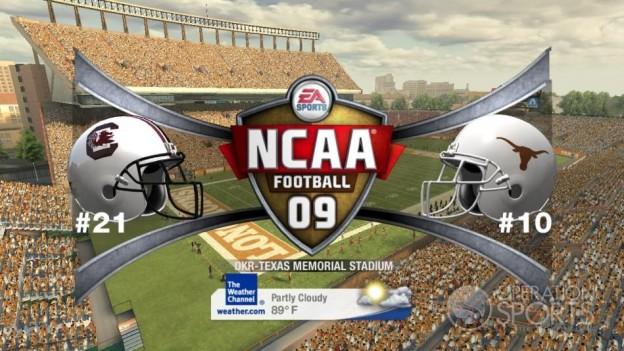 NCAA Football 09 Screenshot #484 for Xbox 360