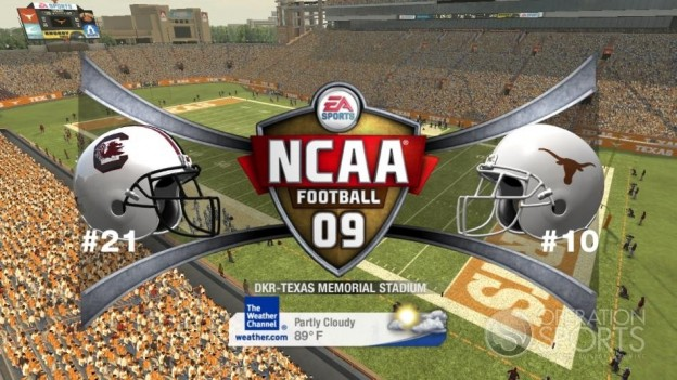 NCAA Football 09 Screenshot #485 for Xbox 360