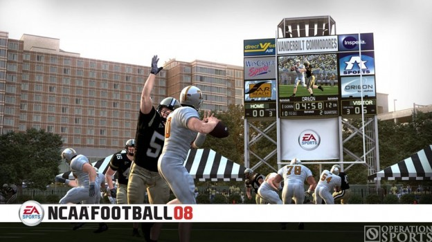 NCAA Football 08 Screenshot #2 for Xbox 360