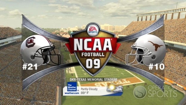 NCAA Football 09 Screenshot #486 for Xbox 360