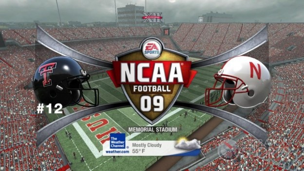 NCAA Football 09 Screenshot #495 for Xbox 360