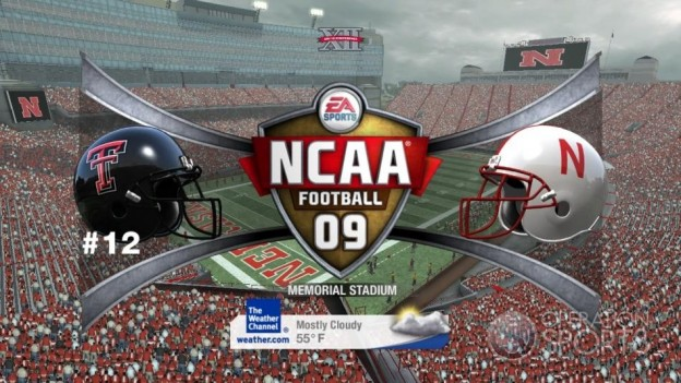 NCAA Football 09 Screenshot #496 for Xbox 360