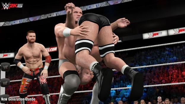 WWE 2K15 Screenshot #33 for PS4