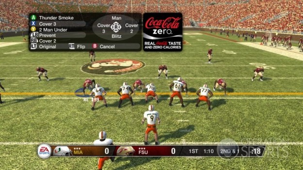 NCAA Football 09 Screenshot #503 for Xbox 360